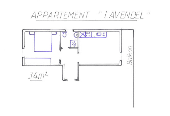 Ferienwohnung Lavendel - Ferienhaus Mitterer - Flachau
