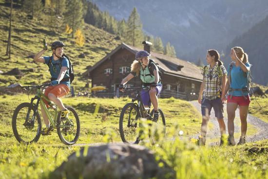 Ferienwohnungen in Flachau - Salzburger Land - Rad fahren