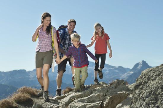 Urlaub Sommer - Flachau - Bergsteigen - Wandern