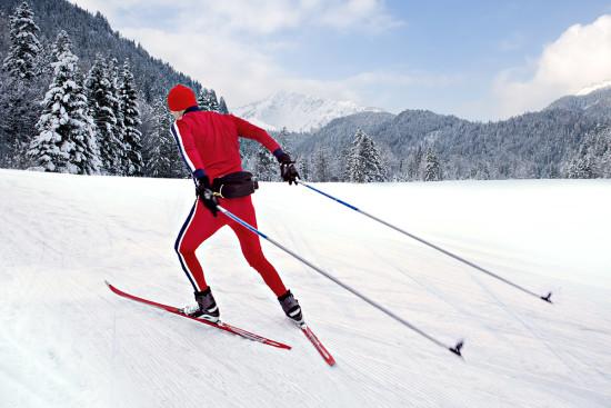 Winterurlaub in Flachau im Salzburger Land - Ferienhaus Mitterer - Langlaufen