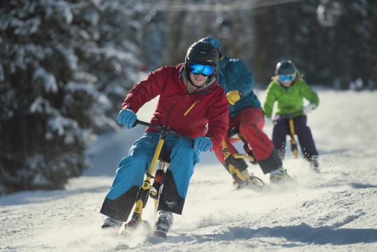 Winterurlaub - Flachau - Salzburg - Abenteuersportarten - Snowbiken
