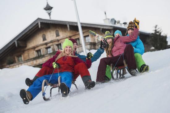 Winterurlaub Flachau - Salzburg - Skitouren - Rodeln